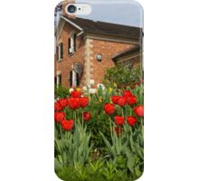 Tulip Garden - Marvelous Spring Flower Beds With Red Tulips and More iPhone Case/Skin