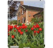 Tulip Garden - Marvelous Spring Flower Beds With Red Tulips and More iPad Case/Skin