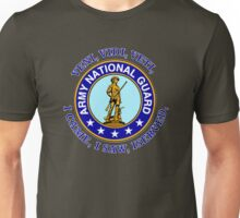 ARMY NATIONAL GUARD VVV SHIELD Unisex T-Shirt