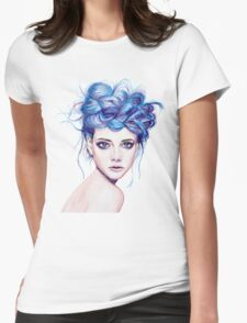Blue Haired Girl T-Shirt