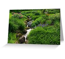 Lush Green Gardens - the Joy of June Greeting Card
