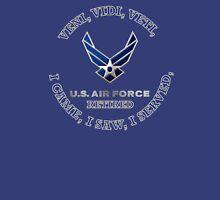 USAF RETIRED LOGO SHIELD Unisex T-Shirt