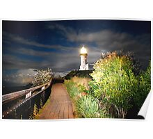 MYSTICAL LIGHTHOUSE Poster