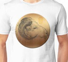 Golden Ram Year 2015  Unisex T-Shirt