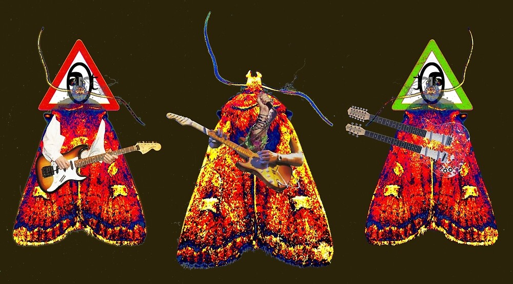 Moth Guitarists by Bjondon
