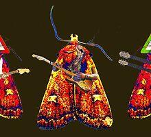 Moth Guitarists by Bjondon