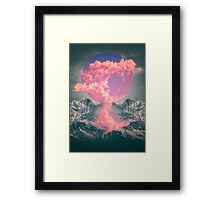 Ruptured Soul (Volcanic Clouds) Framed Print
