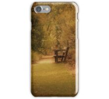 A Quiet Spot iPhone Case/Skin