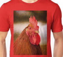 Rooster/Cockerel Portrait Unisex T-Shirt