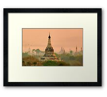 The world still echoes to our calling   Framed Print
