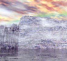 Ancient Antarctic Fortress by XadrikXu