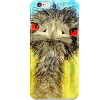 Emu With 'Tude iPhone Case/Skin