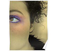Purple Blush Poster