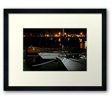 Williamstown Boats Framed Print