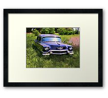LIMO IN SPRING Framed Print
