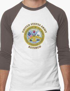 US Army Retired Seal Men's Baseball ¾ T-Shirt