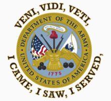 US Army VVV Shield One Piece - Short Sleeve