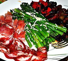 Plate of deliciousness by uhmandakjen