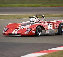 Lola T210 (Bob Houghton) by Willie Jackson