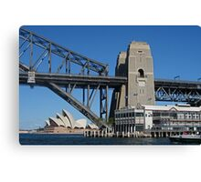 Three Sydney Icons from a Fourth Canvas Print