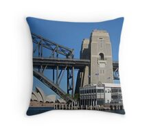 Three Sydney Icons from a Fourth Throw Pillow