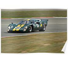 Lola T70 MK3b ( Minshaw/Stretton) Poster