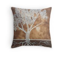 Men's Dreaming Tree Throw Pillow