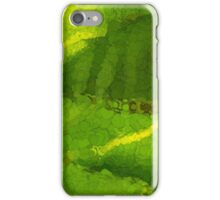 Whimsical Green Patterns - Tropical Impressions  iPhone Case/Skin