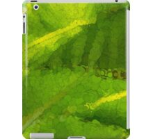 Whimsical Green Patterns - Tropical Impressions  iPad Case/Skin