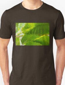 Whimsical Green Patterns - Tropical Impressions  T-Shirt