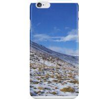 Snow road iPhone Case/Skin