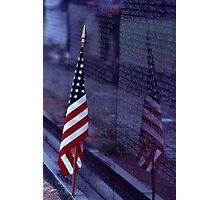 Vietnam Memorial - Washington D.C Photographic Print