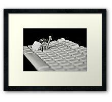 Data Mining Framed Print