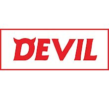 DEVIL  Photographic Print