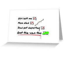 Ant-Man - Luis Got The Van Tho Greeting Card