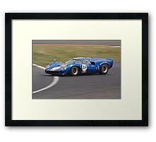 Lola T70 Mk3 (Fr) Framed Print