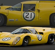 Lola T70 MK3b(c) (Steve Tandy) by Willie Jackson