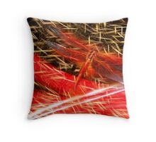 Dragon Rain Throw Pillow