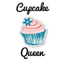 Cupcake Queen Photographic Print
