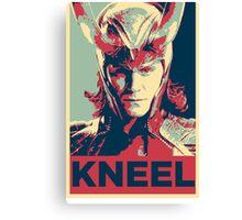 Loki - Kneel Canvas Print