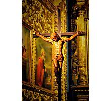 Icon of Jesus on the cross. Photographic Print