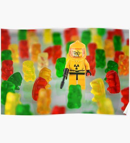 When Gummies Attack Poster