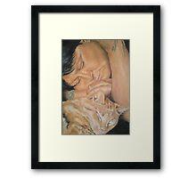 Lisa & Max Framed Print