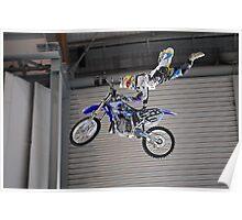 Steve0 Mini #2 | ShowTime FMX Yamaha Freestyle Team Rider | MotorEx Show Sydney Poster