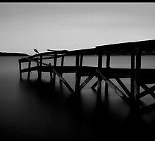 The Jetty at Binalong Bay by Imi Koetz