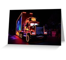 Paint the Night Parade Cars  Greeting Card