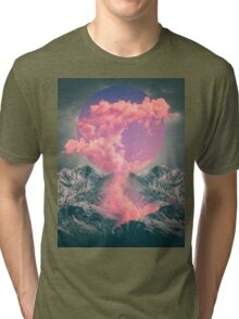 Ruptured Soul (Volcanic Clouds) Tri-blend T-Shirt