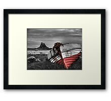 The Boat & The Castle Framed Print
