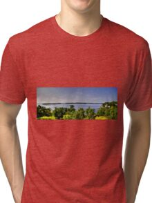 Lake of the Woods (Panorama) Tri-blend T-Shirt