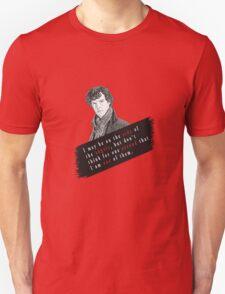 Sherlock Quote Angels T-Shirt